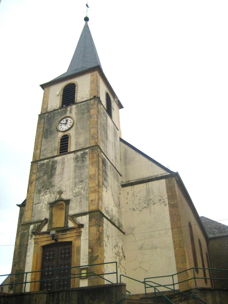 Eglise Paroissiale Sainte-Marguerite à Oudrenne